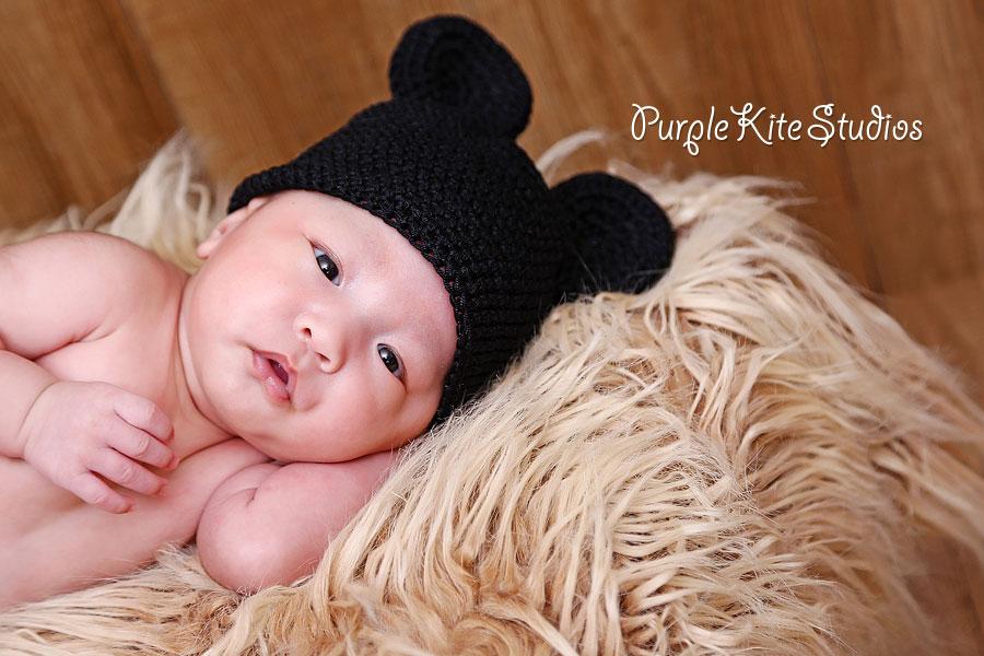 Zack @ 4 weeks old by Purple Kite Studios